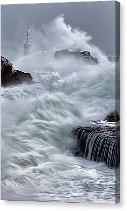 Swallowed By The Sea Canvas Print by Evgeni Dinev
