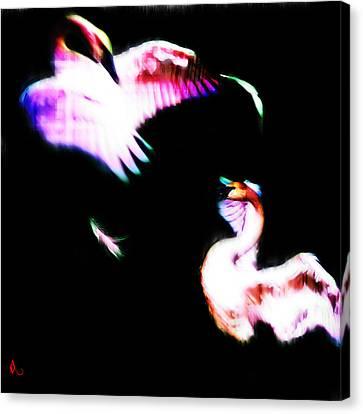 Swans Canvas Print by Adam Vance