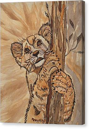 Sweet Baby Canvas Print by Connie Valasco