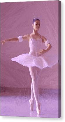 Sweet Ballerina Canvas Print by Steve K
