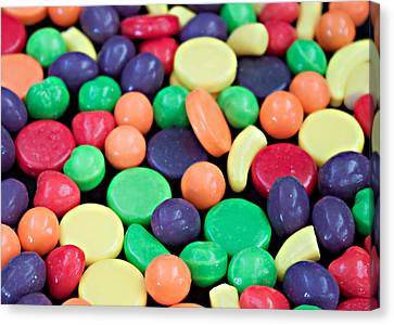 Canvas Print featuring the photograph Sweet Candy Galore  by Sherry Hallemeier