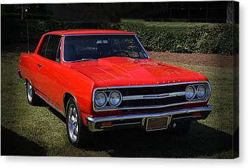 Sweet Chevy 002 Canvas Print by George Bostian