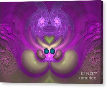 Sweet Dreams - Abstract Digital Art Canvas Print
