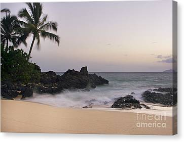Sweet Dreams - Paako Beach Maui Hawaii Canvas Print