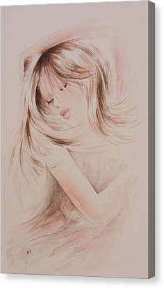 Sweet Dreams Canvas Print by Rachel Christine Nowicki