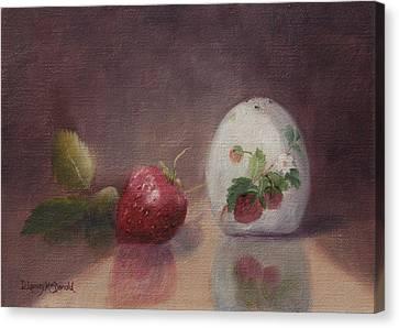 Sweetness Of Summer Canvas Print by Debbie Lamey-MacDonald