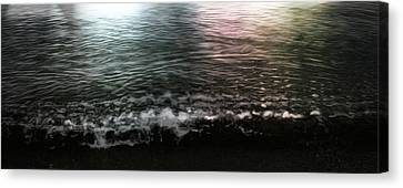 Swim Canvas Print by Janet Kearns