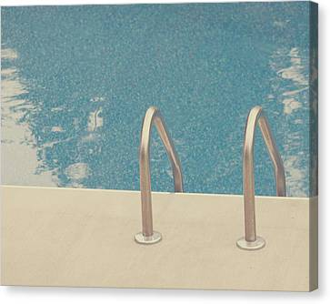Water Swimming Pool Canvas Print - Swimming Pool by Jessica Helinski