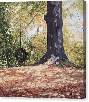 Swing Time Canvas Print by Carla Dabney