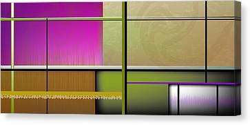 Swirling Durbish Purple Limited Edition Canvas Print