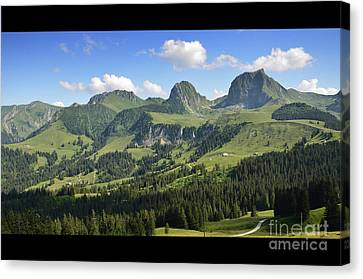 Swiss View 1 Canvas Print
