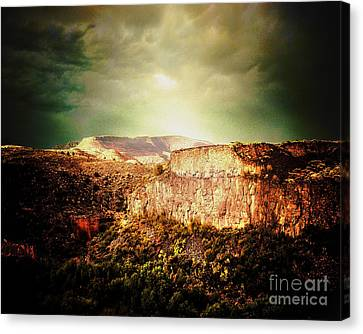 Verde Valley Canvas Print - Sycamore Canyon by Arne Hansen