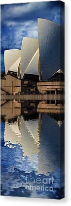 Sydney Opera House Abstract Canvas Print by Avalon Fine Art Photography