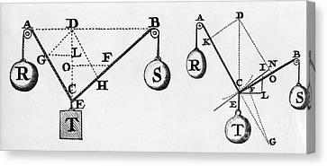 Symbol Language Of Statics Canvas Print by Science Source