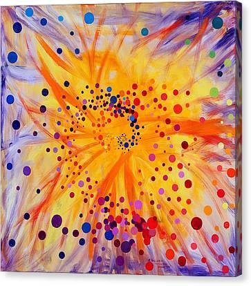 Symmetry Breaking Canvas Print by Regina Valluzzi