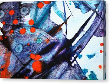 Symphony - Four Canvas Print by Mudrow S