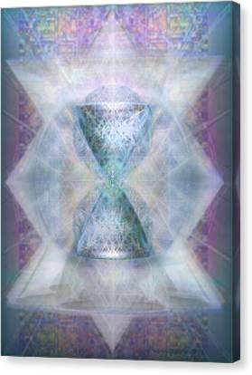 Synthesphered Chalice 'fifouray' On Tapestry Canvas Print by Christopher Pringer
