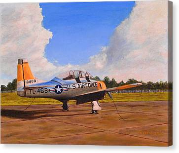 T 28 At Spence Ab Georgia Canvas Print