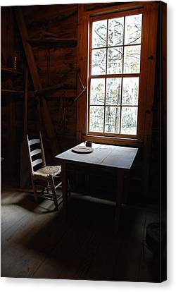 Table For One Canvas Print