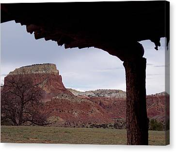 Table Mesa At Ghost Ranch Canvas Print
