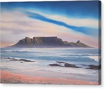 Table Mountain 1 Canvas Print by Adrian Van Staden