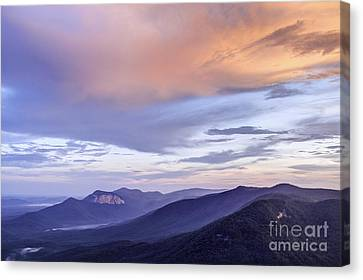 Table Rock Sunset II Canvas Print by David Waldrop