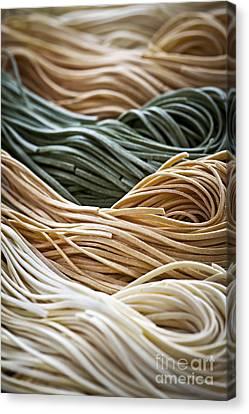 Tagliolini Pasta Canvas Print by Elena Elisseeva