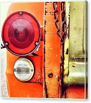 Transportation Canvas Print - Tail Light  by Julie Gebhardt