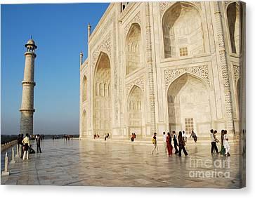 Taj Mahal Canvas Print by Jen Bodendorfer