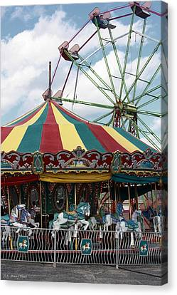 Take Me To The Fair Canvas Print by Penny Hunt