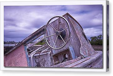 Canvas Print featuring the digital art Take The Wheel by Kevin Chippindall