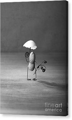 Touching Canvas Print - Taking A Walk 02 by Nailia Schwarz