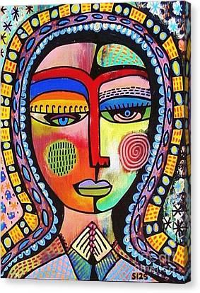 -talavera Virgin Of Guadalupe Enlightenment Canvas Print
