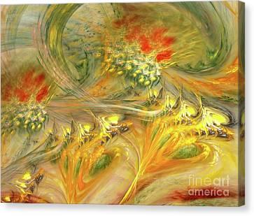 Tale Canvas Print by Kirila Djelepova
