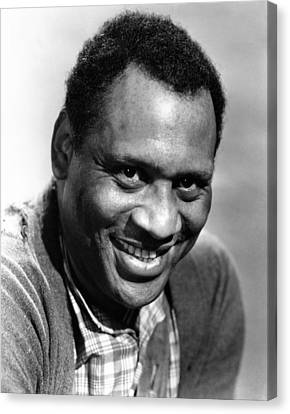 Tales Of Manhattan, Paul Robeson, 1942 Canvas Print by Everett