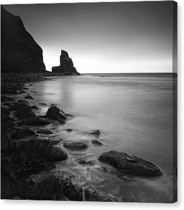 Talisker Rock Canvas Print by Nina Papiorek