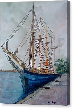 Tall Pirate Ship Canvas Print