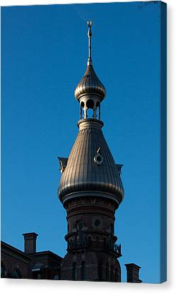 Canvas Print featuring the photograph Tampa Bay Hotel Minaret by Ed Gleichman