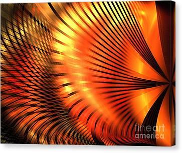 Tangerine Canvas Print by Kim Sy Ok