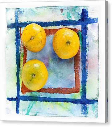 Tangerines Canvas Print - Tangerines  by Igor Kislev