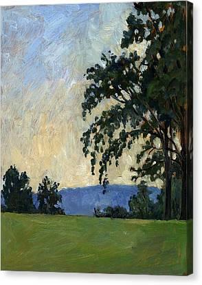 Tanglewood Idyll Canvas Print by Thor Wickstrom