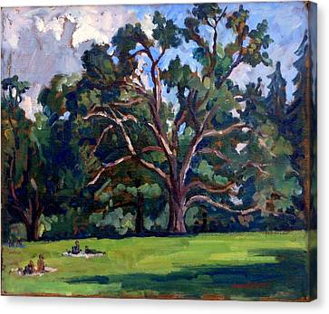 Tanglewood Saturday Canvas Print by Thor Wickstrom