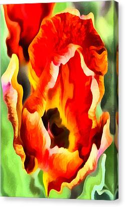 Tantalizing Tulip Canvas Print by Angelina Vick