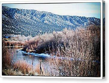 Taos Creek Canvas Print