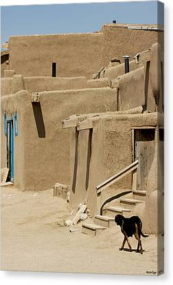 Taos Pueblo Canvas Print by Stellina Giannitsi