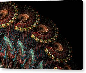 Tapestry Canvas Print by Kathleen Holley