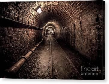 Tar Tunnel 1787 Canvas Print by Adrian Evans