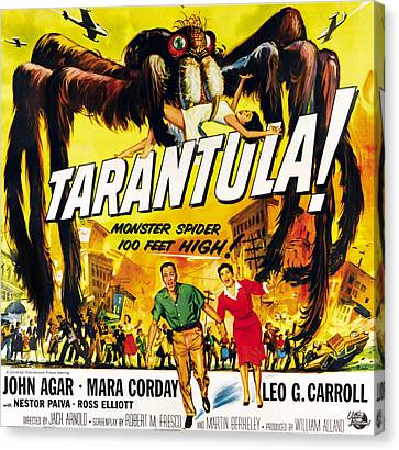 Tarantula, Bottom From Left John Agar Canvas Print by Everett