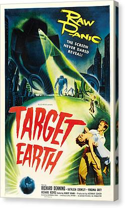 Target Earth, Bottom Right Richard Canvas Print by Everett