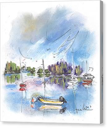 Tarn Et Garonne In France 02 Canvas Print by Miki De Goodaboom
